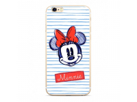 Husa TPU Disney Minnie 011 pentru Huawei P20 Lite, Alba, Blister
