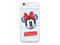 Husa TPU Disney Minnie 011 pentru Samsung Galaxy J6 J600, Alba, Blister