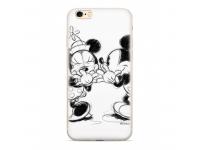 Husa TPU Disney Mickey & Minnie 010 pentru Samsung Galaxy J6 J600, Alba, Blister