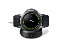Incarcator Retea Wireless Samsung Galaxy Watch 42/46 mm, Negru, Blister EP-YO805BBEGWW
