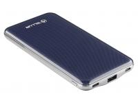 Baterie Externa Powerbank Tellur Slim 10000 mA, 1 x USB - USB Type-C, Bleumarin, Blister TLL158181
