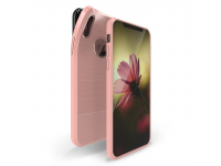 Husa TPU DUX DUCIS MOJO Carbon Magnetic pentru Apple iPhone X / Apple iPhone XS, Roz, Blister