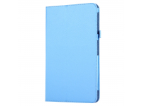 Husa Tableta Piele OEM Litchi pentru Samsung Galaxy Tab A 10.1 (2016), Bleu, Bulk