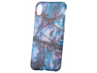 Husa TPU OEM Glossy Marble pentru Apple iPhone XR, Multicolor, Bulk