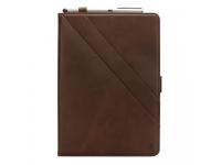 Husa Tableta Piele OEM Double Holder pentru Samsung Galaxy Tab A 10.5 T590 / Samsung Galaxy Tab A 10.5 T595, Maro, Bulk