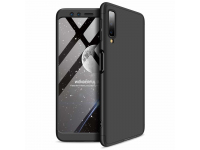 Husa Plastic OEM Full Cover pentru Samsung Galaxy A7 (2018) A750, Neagra, Bulk