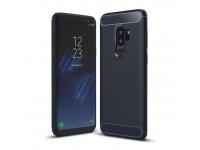 Husa TPU OEM Carbon pentru Samsung Galaxy S9+ G965, Bleumarin, Bulk