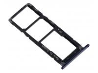 Suport Card - Suport SIM Negru Asus Zenfone 4 Max ZC554KL