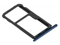 Suport Card - Suport SIM Albastru Huawei Mate 20 Lite