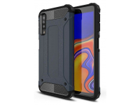Husa Plastic - TPU OEM Tough Armor pentru Samsung Galaxy A7 (2018) A750, Bleumarin, Bulk