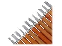 Set Cutite scluptura in lemn 12 in 1, Blister