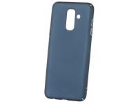 Husa Plastic Mofi Slim pentru Samsung Galaxy A6+ (2018) A605, Bleumarin, Blister
