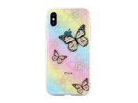 Husa TPU OEM Butterflies pentru Samsung J6 Plus (2018) J610, Multicolor, Blister
