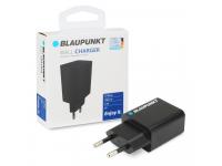 Incarcator Retea USB Blaupunkt, 1 X USB, 2.4A,  Negru, Blister BP-WCAB-24A