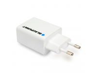 Incarcator Retea USB Blaupunkt, 1 X USB, 2.4A, Alb, Blister BP-WCAW-24A