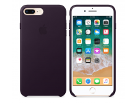 Husa piele Apple iPhone 7 Plus / Apple iPhone 8 Plus, Mov, Blister MQHQ2ZM/A
