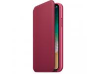 Husa Piele Apple iPhone X / Apple iPhone XS, Folio, Visinie, Blister MQRX2ZM/A