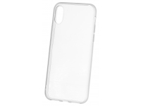 Husa TPU OEM Frosted Frame pentru Apple iPhone XS Max, Transparenta, Bulk