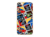 Husa TPU DC Comics Liga 001 pentru Apple iPhone X / Apple iPhone XS, Multicolor, Blister WPCHEROS130