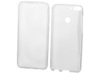 Husa Plastic - TPU OEM Full Cover pentru Samsung Galaxy S8+ G955, Transparenta, Bulk