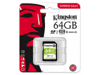 Card Memorie SDXC Kingston Canvas Select, 64Gb, UHS-1 U1, Blister SDS/64GB