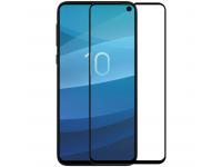 Folie Protectie Ecran Nillkin pentru Samsung Galaxy S10 G973, Sticla securizata, Full Face, Edge Glue, 3D CP+ MAX, Neagra, Blister