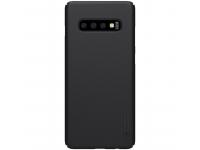 Husa Plastic Nillkin Frosted pentru Samsung Galaxy S10+ G975, Neagra, Blister