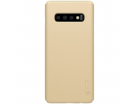 Husa Plastic Nillkin Frosted pentru Samsung Galaxy S10+ G975, Aurie, Blister
