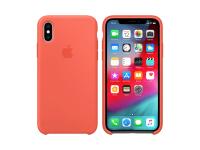 Husa TPU Apple iPhone X / Apple iPhone XS, Portocalie, Blister AP-MTFA2ZM/A