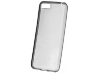 Husa TPU OEM Frosted Frame pentru Apple iPhone 7 Plus / Apple iPhone 8 Plus, Gri - Transparenta, Bulk