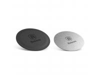 Set sticker magnetic telefon pentru Suport Auto Baseus, Argintiu, Blister ACDR-A0S