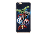 Husa TPU Marvel Avengers 001 pentru Apple iPhone 6 / Apple iPhone 7 / Apple iPhone 8, Bleumarin, Blister MPCAVEN046