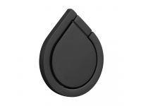 Suport inel universal pentru telefon Water-drop, Negru Blister