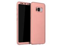 Husa Plastic OEM Full Cover pentru Samsung Galaxy A7 (2018) A750, Roz, Bulk