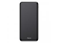 Baterie Externa Powerbank Baseus M36 cu incarcare Wireless 10000 mA, 2 x USB, Neagra, Blister  PPALL-M3601
