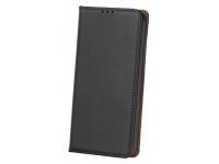 Husa Piele OEM Smart Pro pentru Samsung J6 Plus (2018) J610, Neagra, Bulk