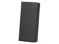 Husa Piele OEM Smart Pro pentru Samsung Galaxy S9 G960, Neagra, Bulk
