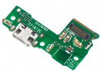 Placa Cu Conector incarcare/Date - Microfon Huawei P9 lite mini