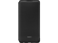 Husa Piele Huawei P30, Wallet Cover, Neagra, Blister 51992854