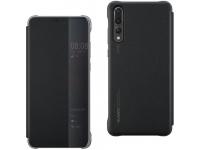Husa TPU Huawei P30 Pro, Flip View Cover, Neagra, Blister 51992882