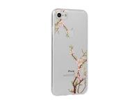 Husa TPU OEM Floral Cherry pentru Samsung Galaxy S9 G960, Multicolor - Transparenta, Blister