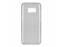 Husa TPU OEM Shining pentru Nokia 5.1, Argintie