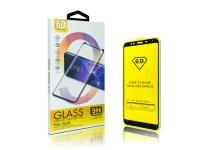 Folie Protectie Ecran OEM pentru Apple iPhone X / Apple iPhone XS, Sticla securizata, Full Face, Full Glue, 6D, Neagra, Blister