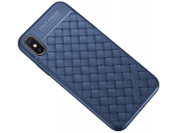 Husa TPU OEM Braided pentru Samsung Galaxy S8 G950, Bleumarin, Bulk