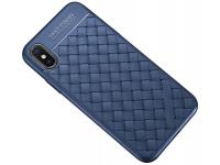 Husa TPU OEM Braided pentru Samsung Galaxy S8+ G955, Bleumarin, Bulk