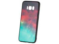 Husa TPU OEM Galaxy cu spate din sticla pentru Samsung Galaxy S8+ G955, Multicolor, Bulk