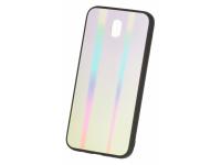 Husa TPU OEM Rainbow1 cu spate din sticla pentru Samsung Galaxy S9 G960, Multicolor, Bulk