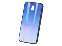 Husa TPU OEM Rainbow3 cu spate din sticla pentru Samsung Galaxy S9 G960, Multicolor, Bulk