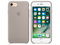 Husa TPU Apple Pebble Apple iPhone 7 Plus / Apple iPhone 8 Plus, Bej, Blister MQOP2FE/A