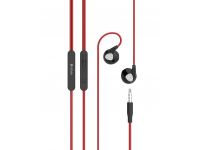 Handsfree Casti In-Ear DEVIA D2 Ripple, Sport, Cu microfon, 3.5 mm, Rosu, Blister